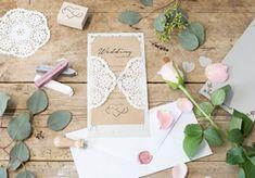 DIY - Lav Deres egne bryllupsinvitationer