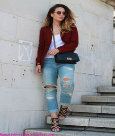 15 Stylish Early Spring Combinations - http://newcelebrityhairstyles.com/15-stylish-early-spring-combinations/