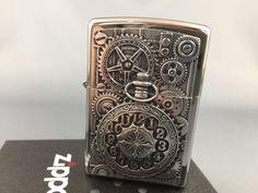 ZIPPO Pocket Watch emblem lighter - brand new and rare collectible ...