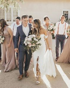 The Perfect Wedding Dress For The Bride - Aspire Wedding Wedding Goals, Wedding Pics, Summer Wedding, Wedding Styles, Wedding Planning, Dream Wedding, Wedding Day, Wedding Dresses, Wedding Bridesmaids