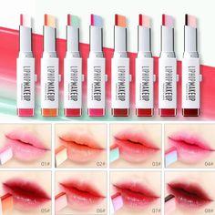 Rouge à lèvres Bicolore