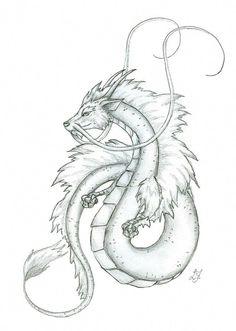31 new ideas drawing dragon sketches ideas - Tatuaje 19 - Dragon Drawings In Pencil, Dragon Tattoo Drawing, Small Dragon Tattoos, Dragon Tattoo For Women, Japanese Dragon Tattoos, Dragon Tattoo Designs, Art Drawings, Drawings Of Dragons, Tattoo Japanese