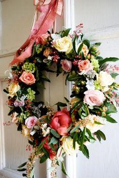 Floral Wreath Beauty