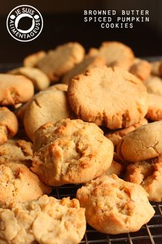 Pumpkin Spice Cookies and Cookie Experiments