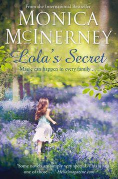 Lola's Secret be Monica McInerney  #IrishAuthors #Fiction