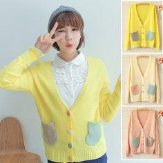 Japanese students knitting coat