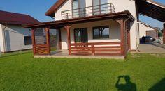 structura din lemn de conifer, acoperita cu tigla metalica. Modern Bedroom, Barbecue, Cabin, House Styles, Interior, Outdoor Decor, Home Decor, Bedroom Modern, Decoration Home