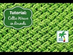 TheCeltic Weave Stitch is one of my favorites. It has also been referred to as the diagonal weave and interweave stitch. Whatever you call it, it creates a beautiful, thick texture that looks stunning! As gorgeous as this stitch is, it's not the easiest one to learn.So I hope you find thisvideo …
