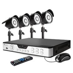Zmodo 8CH Home Security DVR Surveillance CCTV Camera System with 4 Night Vision IR Cameras 1TB HD Pre-installed by ZMODO. $223.99. Overview The complete 8 channel Home Surveillance Camera Systems delivers everything you need to defend your home or business, safeguard your loved ones and deter intruders. It is cutting-edge surveillance technology made easy, at an affordable price.  Expandable up to 8 Cameras This system comes with four cameras and allows you expand it to up to...