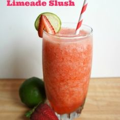 Strawberry Key Limeade Slush recipe