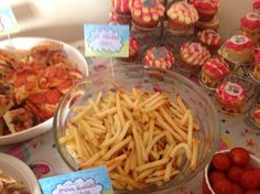 Peppa Pig Party Food - Mr Potatoes Chips