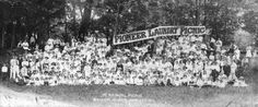 [Pioneer Laundry Picnic] 1st Annual Picnic, Bowen Island, B.C., June 17,1916 - City of Vancouver Archives