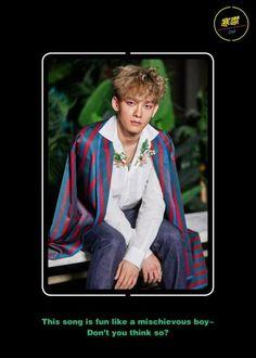 Chen - 170718 'The War' album digital booklet photo EXO EXO M Chen 170718 exo im exo m im chen im album:the war comeback:War