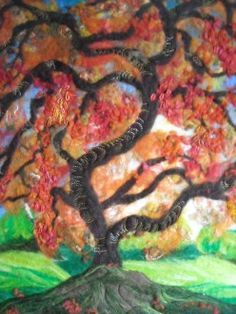 Image result for wet felting with writing