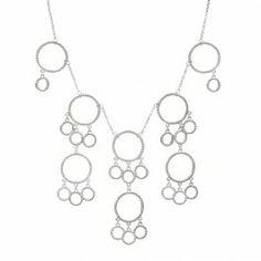 Super popular outline- no jewels or apoxy! Maegann Necklace $45.00