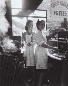 kitchen girls, 1946