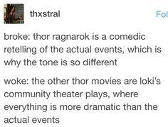 i truly believe this is true Marvel Memes, Marvel Dc Comics, Marvel Avengers, Thor, Loki, Johnlock, Destiel, Asgard, I Am Batman