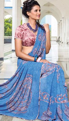 Usa People, Only Online, Ethnic Dress, Printed Sarees, Indian Ethnic, Dresses Online, Product Launch, Sari, Turquoise