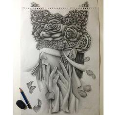 "#mulpix ➖ ""I'm waiting, shaking, dancing, faking, breaking, praying, hating, everytime I close my eyes "" . Graphite pencil on paper A3.  Inspirasi teknik gaya gambar dari [@handmad_bali] ✨. -   #sketch #sketches #sketchbook #art #artist #artwork #sketcher #bnw #graphite #pencil #worldofpencils #handmade #rebelinesart #draw #drawing #drawingbook"
