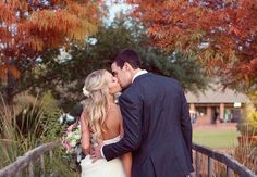 This Outdoor Wedding in Texas Had the Perfect Color Palette For Fall