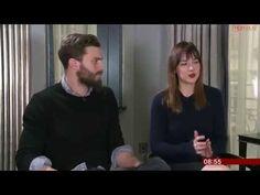 Jamie Dornan & Dakota Johnson Interview   Fifty Shades of Grey  News Breakfast - YouTube
