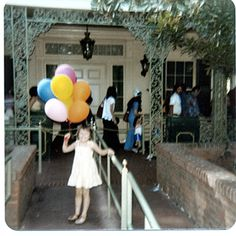 my first ride on the Haunted Mansion in 1978