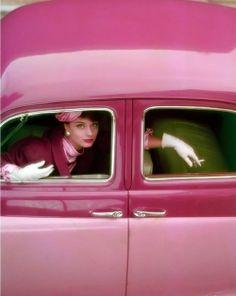Photograph for the cover of Vogue by Norman Parkinson,  August 1957.