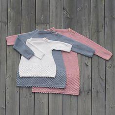 #dolleguritunika fra #jentestrikk -heftet vårt :) #klompelompe tunic from our knit for girls booklet :)