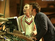 doctor who peter davison | Doctor Who : photo David Tennant, Peter Davison
