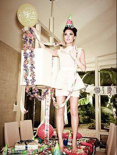 ellen von unwerth, art, photography, victoria beckham, music, fashion, Glamour Magazine, 2010