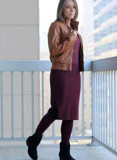 Why Midi Dresses Often Need Heels