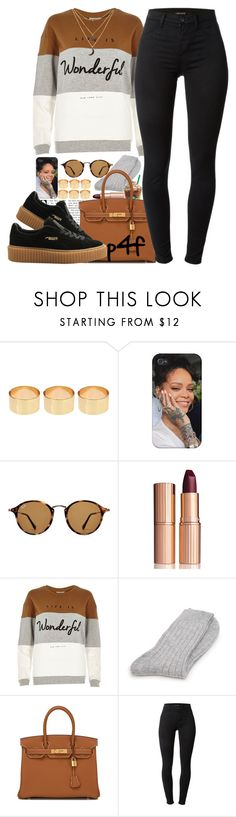 """""""Passion 4Fashion: All I know at the end of the day Is you want what you want and you say what you say And you'll follow your heart even though it'll break sometimes"""" by shygurl1 ❤ liked on Polyvore featuring ASOS, Ray-Ban, Charlotte Tilbury, River Island, Ted Baker, Hermès, J Brand and Charlotte Russe"""