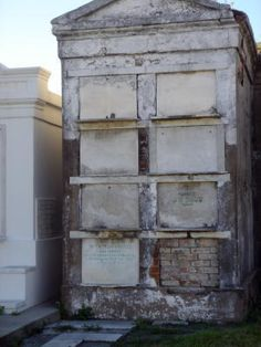 Family Tomb St. Louis Cemetery, New Orleans