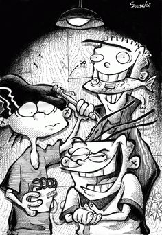 Ed, Edd, n' Eddy (BEST show from 90's Cartoon Network)