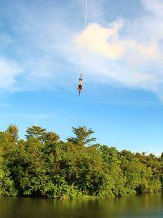 Bungee jumping in Phuket  - The best thrill on the island! #EBSPhuket #adrenaline #EuropeanBartenderSchool