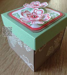 Stampin´UP! jennys_Stempelwelt Explosion Box mit dem Set Birthday Blossoms und den neuen In Colours 2015-2017