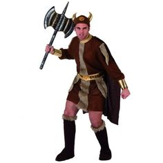 Disfraz de Vikingo para Hombre http://www.disfracessimon.com/disfraces-baratos/1209-disfraz-vikingo-p-1209.html