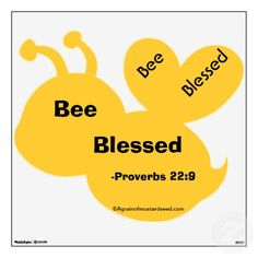 Bee Blessed Agrainofmustardseed Bumble Wall Decor