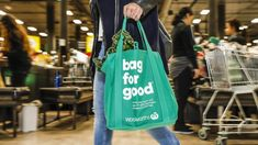 Plastic bags will soon be gone from major supermarkets and many other shops too. Campaigns to reduce plastic even more should focus on positive advice, rather than shaming shoppers for their plastic use. Reusable Shopping Bags, Reusable Tote Bags, Australian Stock Exchange, No Plastic, Plastic Bags, Cool Gear, Green Bag, Plastic Pollution, Liquor