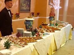 Calabria e Sicilia a buffet per le nozze natalizie di Marialuisa e Daniele