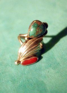 Vintage Native American Zuni Indian Sterling Silver