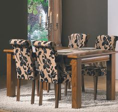 Dining Chairs, Dining Room, My House, Upholstery, Sweet Home, Table Settings, New Homes, Room Decor, Architecture