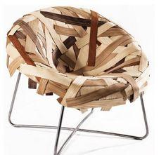 Chaise et bois