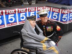 Nicolas Oresko and Dakota Meyer, the oldest and the youngest Medal of Honor recipients.  Bless you!