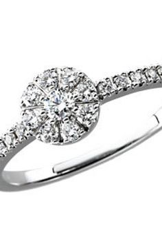 1/3 ct tw Diamond Ring     Quality - 14K White    Size - 1/3 CT TW     Finish - Polished     Series Description - DIAMOND RING     Weight: 1.46 DWT ( 2.27 grams)     Comes Set With     Qty   Stone     1 - 0.100 Ct -- 2.60 MM, I1 / H-I Round Diamond     8 - 0.020 Ct -- 1.60 MM, I1 / H-I Round Diamond     10 - 0.007 Ct -- 1.2 MM, I1 / H-I Round Diamond       Matching diamond earrings: 67096     Matching diamond necklace: 67088     ST-67090    thesgdex.com