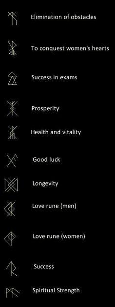 Runes - tattoo inspiration.                                                                                                                                                                                 More