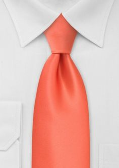 coral tie for him