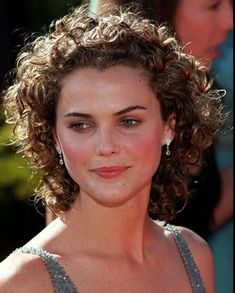 Short Curly Hair, Curly Bob, Curly Hair Styles, Natural Hair Styles, Keri Russell Hair, Curls Rock, Pulled Back Hairstyles, Hair Pulling, Glamour