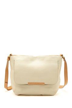 simple white purse