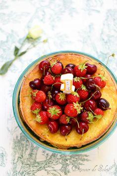 Gâteau italien à la ricotta et aux amandes (budino)